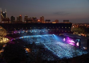 Nightly Concert at LP Field on Sunday, June 10 during the 2011 CMA Music Festival in Downtown Nashville.