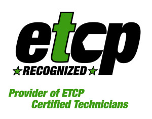 ETCP Certified Technicians Recognized